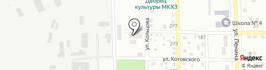 Приват на карте Макеевки