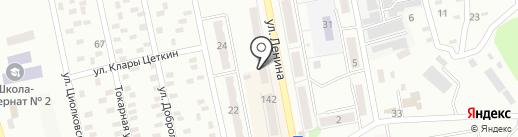 Глори на карте Макеевки