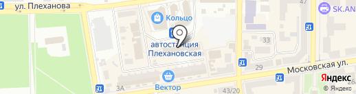 Многонадо на карте Макеевки