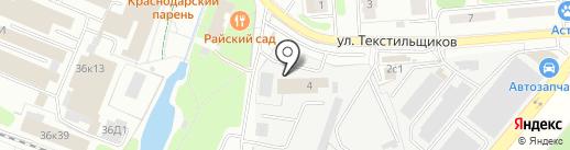 Буква на карте Балашихи