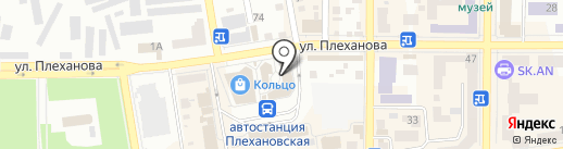 Булочная плюс на карте Макеевки