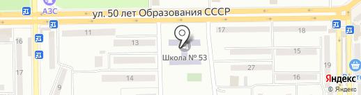 Макеевская общеобразовательная школа I-III ступеней №53 на карте Макеевки