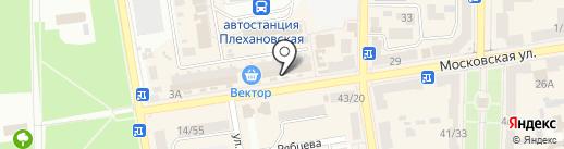 Ликеро-водочный магазин на карте Макеевки