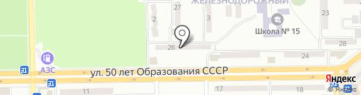 Тари на карте Макеевки
