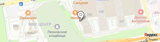 ТД Родал на карте Балашихи