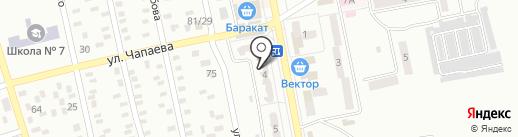 Нотариус Карпенко О.М. на карте Макеевки