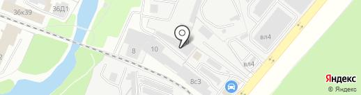 Илви на карте Балашихи
