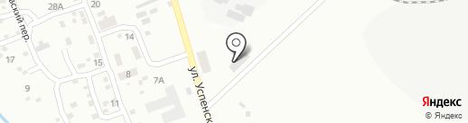 Укршахтгидрозащита, ГП на карте Макеевки