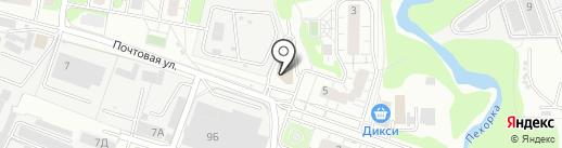 Перекресток на карте Балашихи