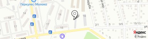 Форсаж, автокомплекс на карте Макеевки