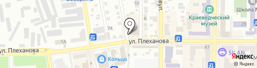Мойдодыр на карте Макеевки