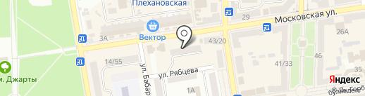 Толстяк на карте Макеевки