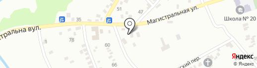 Бавария на карте Макеевки