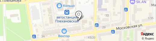 Идеал на карте Макеевки