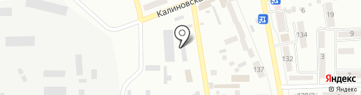 Техноспорт на карте Макеевки