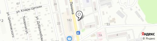 Магазин канцелярских товаров и игрушек на карте Макеевки