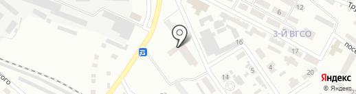 Аустер-Дон на карте Макеевки