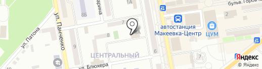 Пантао на карте Макеевки