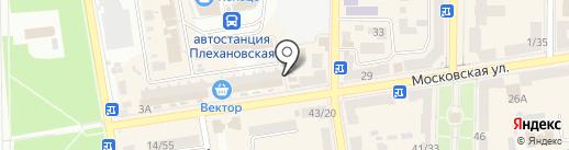 Оазис на карте Макеевки