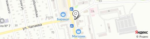 Отделение связи №30, г. Макеевки на карте Макеевки