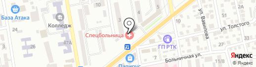 Семь-Я на карте Макеевки