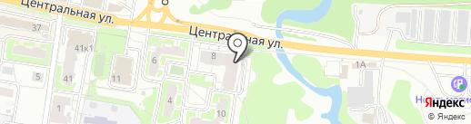 Фасон на карте Балашихи