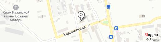 Оланпласт на карте Макеевки