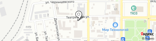 Авто Лидер на карте Макеевки