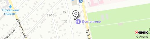 АЗС WOG на карте Макеевки