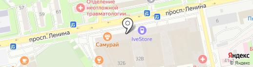ЖК АКВАРЕЛИ на карте Балашихи
