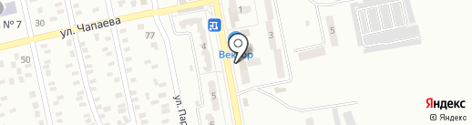 Скорбота на карте Макеевки