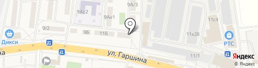 МОСМЕТПРОМ на карте Томилино