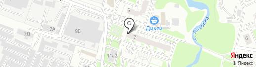 Вега на карте Балашихи