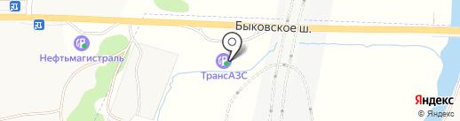 ТрансАЗС на карте Малаховки