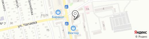 Банкомат, Первый Украинский Международный Банк на карте Макеевки