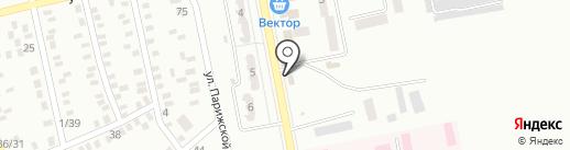 Газда на карте Макеевки