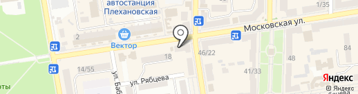 Комп+ на карте Макеевки