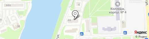Хмельное на карте Балашихи