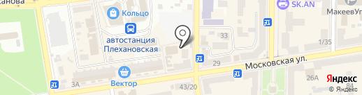 Тату Макеевка на карте Макеевки