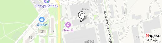 Фаворитстрой на карте Балашихи