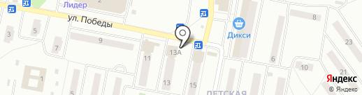 Союзпечать на карте Ивантеевки