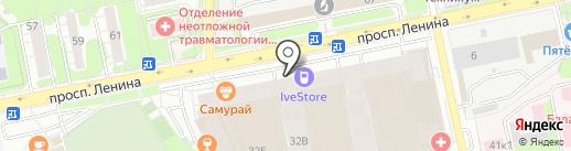 Магазин мясной продукции на карте Балашихи