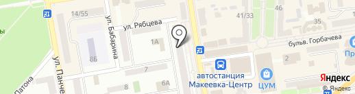 Гарант Сервис на карте Макеевки