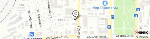 MakInfo+ на карте Макеевки