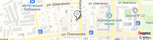 Ин-Тайм на карте Макеевки
