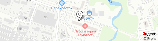 Дента-Смайл на карте Балашихи
