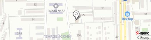 Ветеринарный центр на карте Макеевки