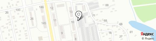 Макстрой на карте Макеевки