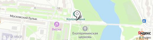Знатный на карте Балашихи