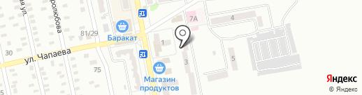 Бомонд на карте Макеевки